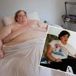 Así era de delgado el hombre más gordo del mundo