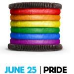 La galleta Oreo también quiere celebrar el Orgullo Gay