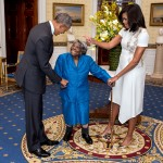 El baile de una mujer de 106 años al conocer a los Obama
