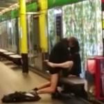 Buscan a una pareja por practicar sexo en el metro de Barcelona