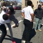 Detiene una pelea entre dos chicos y su intermediación se hace viral