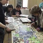 El puzzle más grande del mundo, cerca de ser terminado en León