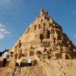 Éste es el castillo de arena más alto del mundo