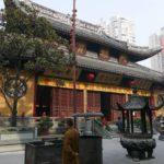 Trasladan 30 metros con grúas un templo en China por motivos turísticos