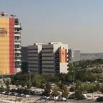 Instalan en un edificio en obras la bandera de España más grande del mundo