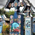 El cementerio alegre de Sapantza ve la muerte con optimismo