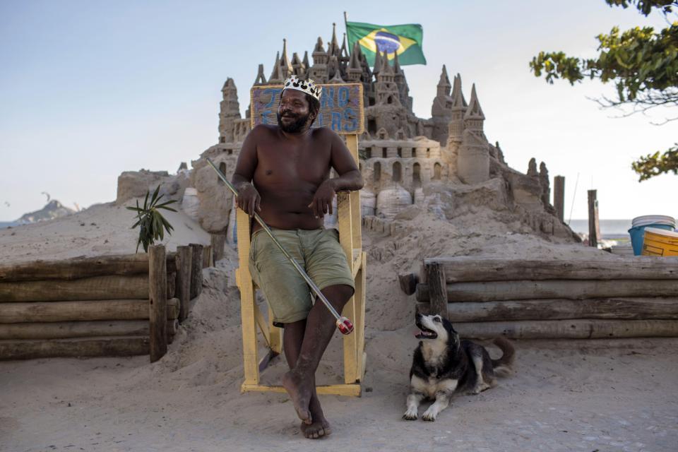 El rey de la playa de Brasil