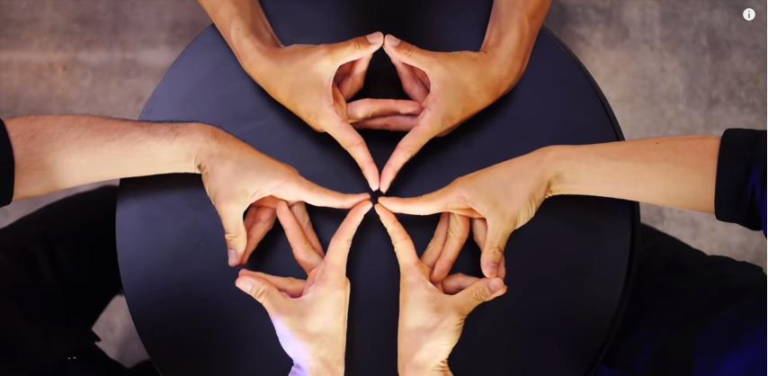 El juego de las manos que te dejará hipnotizado