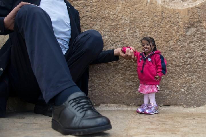 La mujer más pequeña que ostenta un récord