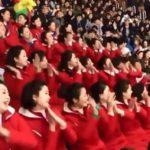 Las cheerleaders norcoreanas que enamoran en los Juegos de Invierno