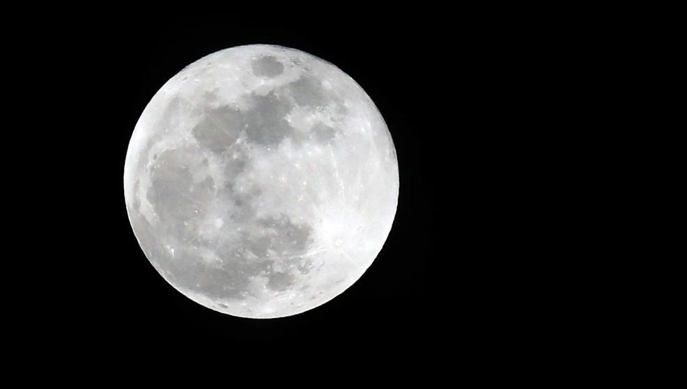 Imagen de la superluna - EFE