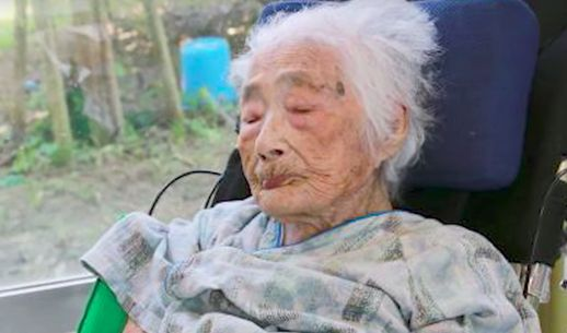 Tajima era la persona más vieja del mundo