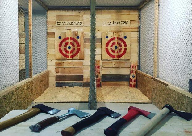 Primer centro de tiro de hacha de España